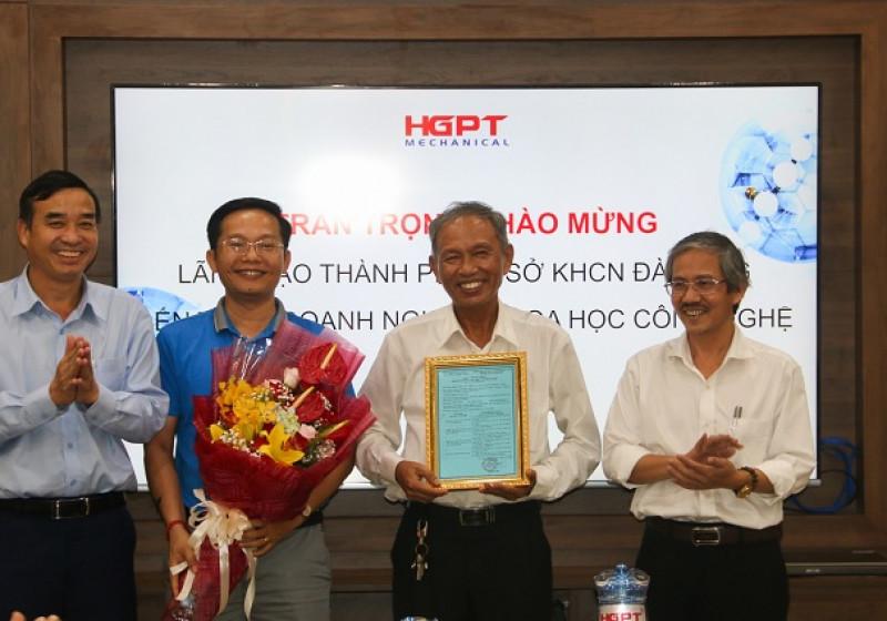 Công ty Cổ phần Cơ khí Hà Giang Phước Tường được trao Giấy chứng nhận doanh nghiệp khoa học và công nghệ