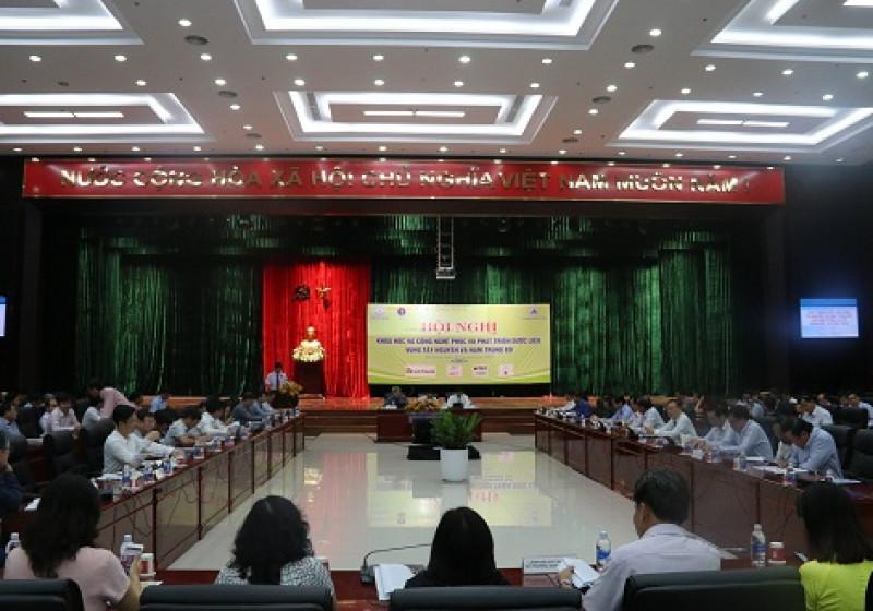 Ứng dụng khoa học và công nghệ vào phát triển dược liệu vùng Nam Trung bộ và Tây Nguyên