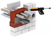 Foam ngăn cháy lan cho máng cáp, ống, cáp PYROSIT® NG fire protection foam-OBO