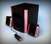 Loa máy tính SAAG HEXON pink