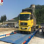 Cân xe tải điện tử 100 tấn