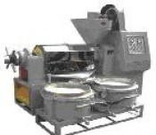 Máy ép dầu đậu phộng, đậu nành/ máy ép dầu và lọc dầu chân không 6YL-120A