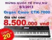 Đàn Organ Casio CTK7000