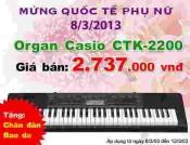 Đàn Organ Casi0 CTK2200