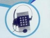 Điện thoại v tai nghe Pro call center dành cho tổng đài analog _phoenix-asia.net