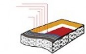 Thảm Alpa Surface SD 2.5 mm: Cầu lông, Bóng rổ,Tenis, Bóng chuyền, Sân đa năng