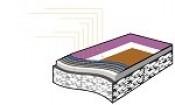 Thảm Alpa Surface EX 6,5-8.5mm : Cầu lông, Bóng rổ,, Bóng chuyền, Sân đa năng, B