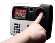 Máy chấm công vân tay   thẻ cảm ứng RONALD JACK 6869