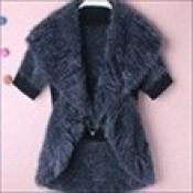 AD0071-37a: Áo khoác len xinh đẹp màu xám
